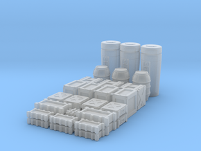 1:48 SW Deluxe Container Set in Smooth Fine Detail Plastic