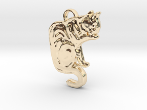 Hermoine Grooms (with ring) in 14k Gold Plated Brass