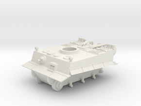 SD Tank Tiger 1 (Part 2/3) in White Natural Versatile Plastic