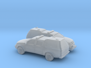 1/200 2X 2005-15 Toyota Hilux Royal Airforce Mount in Smooth Fine Detail Plastic