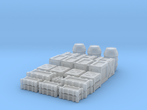 1:48 SW Container Set in Smooth Fine Detail Plastic