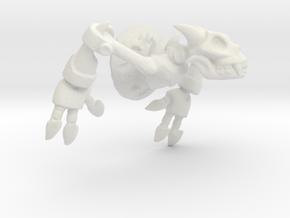 Moloch Wallbreaker - small in White Natural Versatile Plastic