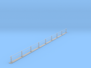 PRR HANDRAIL HO SCALE Ultra Frosted  in Smooth Fine Detail Plastic