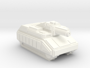 Pugilist Infantry Support Tank in White Processed Versatile Plastic
