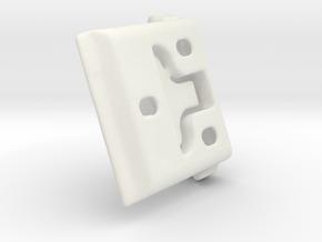Shade Bracket 305 - Gp in White Natural Versatile Plastic