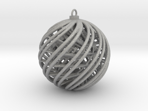 Christmas Ornament A in Aluminum