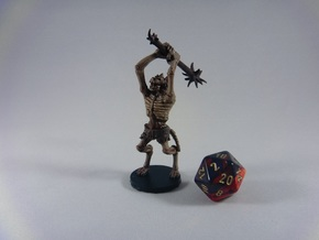 Gnoll Withering in White Natural Versatile Plastic