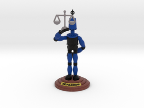 boOpGame Shop - The Policeman in Full Color Sandstone