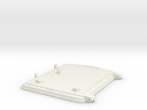 US&S box door top in White Strong & Flexible