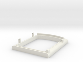 US&S box door frame bottom in White Strong & Flexible