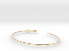 Zanpakuto bracelet in 14K Yellow Gold