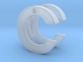 custom monogram  in Smooth Fine Detail Plastic