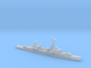 Gearing-class destroyer (FRAM 1B), 1/1800 in Smooth Fine Detail Plastic