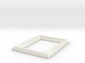 Small Frame  in White Natural Versatile Plastic