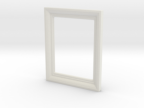 Small Frame 1 in White Natural Versatile Plastic