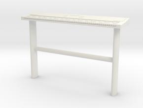 Printle Thing Keyboards - 1/24 in White Natural Versatile Plastic