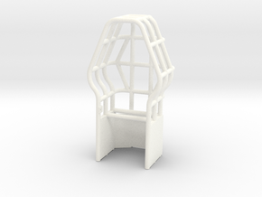 Roll Cage Diamond Shape in White Processed Versatile Plastic