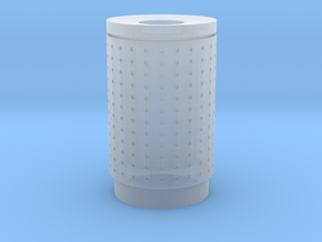 DSB 80L Affaldsbeholder (Litter bin) 1:120 in Smooth Fine Detail Plastic