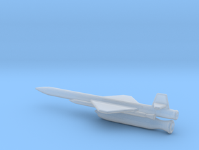 1/200 Scale X-7 Missile in Smooth Fine Detail Plastic