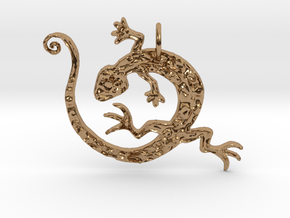 Lizard Dance in Polished Brass