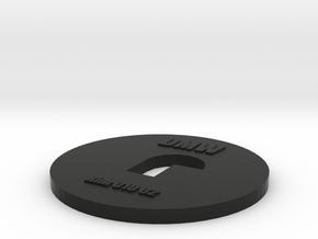 Clay Extruder Die: Rim 010 02 in Black Natural Versatile Plastic