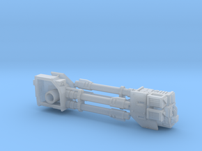 Dreadnought Autocannon arms, 28mm v1.3 in Smooth Fine Detail Plastic