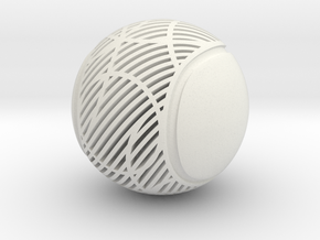 """Q-06: """"Home Game"""" by Local Projects in White Natural Versatile Plastic"""