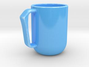 The Engineer's Mug - 10oz in Gloss Blue Porcelain