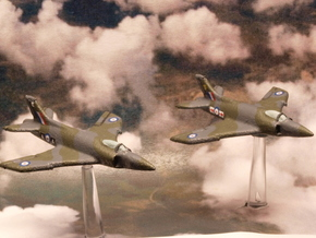 Supermarine Swift FR.5 (Pair) 1/285 6mm in White Natural Versatile Plastic