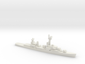 Gearing-class destroyer (FRAM 1A), 1/2400 in White Natural Versatile Plastic