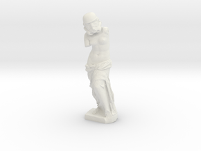 Venus de Milo Stormtrooper Statuette in White Natural Versatile Plastic: Medium