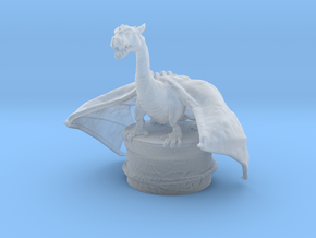 Fantasy Dragon Bottlestopper in Smooth Fine Detail Plastic