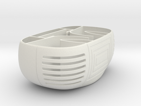 Smartphone Boom Box Base in White Natural Versatile Plastic