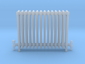 Radiator in Smooth Fine Detail Plastic
