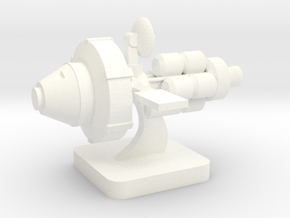 Mini Space Program, Interplanetary Ship 5 in White Processed Versatile Plastic