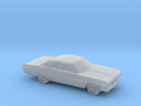 1/220 1969-70 Plymouth Fury Coupe in Smooth Fine Detail Plastic