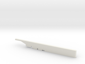 1/72 Scale F15 ASAT Missile Launch Rail in White Natural Versatile Plastic