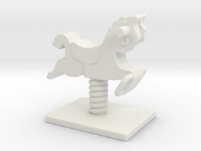 Playground Spring 01. 1:35 Scale  in White Natural Versatile Plastic