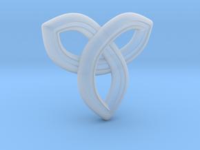 Geometric Pendant in Smooth Fine Detail Plastic