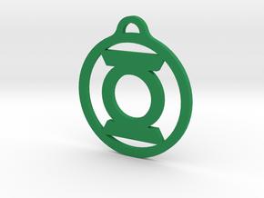 Green Lantern in Green Processed Versatile Plastic