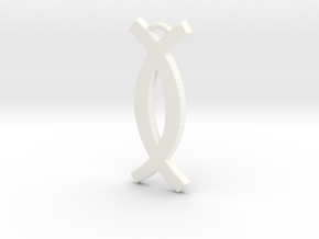 Ujamaa (Cooperative Economics) KWANZAA SERIES in White Processed Versatile Plastic