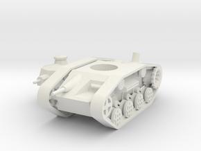 1/100 Dwarven Battlewagon (steam version) in White Strong & Flexible
