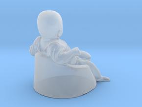 baby boy - 6CM High in Smooth Fine Detail Plastic