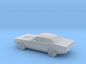 1/220 1971 Plymouth Baracuda in Smooth Fine Detail Plastic