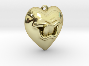 What the heart wants in 18k Gold Plated Brass