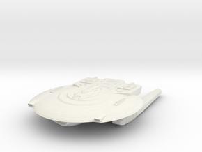 Federation KittyHawk Class VI  Cruiser in White Natural Versatile Plastic