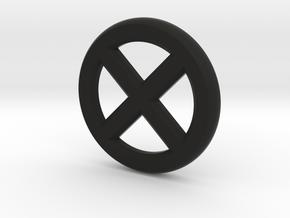 X in Black Natural Versatile Plastic