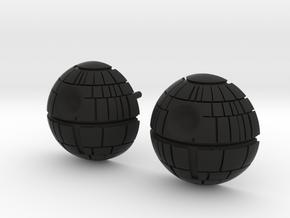 Death Star Studs in Black Premium Strong & Flexible