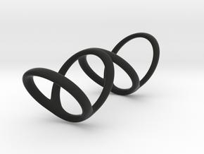 Ring for Bob L1 1 1-4 L2 1 3-4 D1 7 D2 9 1-2 D3 10 in Black Premium Strong & Flexible