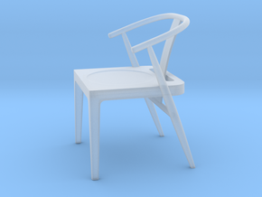 Printle Thing Chair 10 - 1/43 in Smooth Fine Detail Plastic